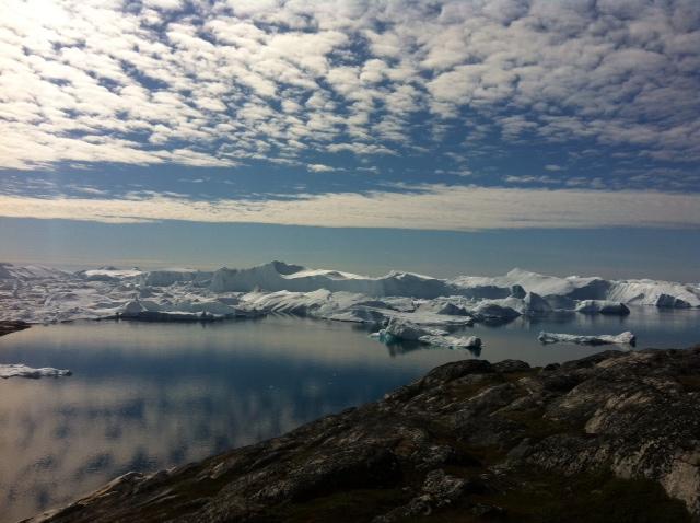 世界遺産イルリサットの氷河